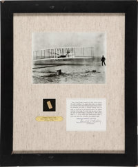 Wright Brothers Kitty Hawk Original Wright Flyer Wing Fabric
