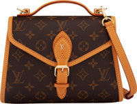 "Louis Vuitton Monogram Coated Canvas Ivy Bag Condition: 1 9.25"" Width x 6.5"" Height x 3.25"" Dept"