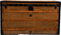 Luxury Accessories:Travel/Trunks, Louis Vuitton Damier Ebene Coated Canvas Steamer Trunk...