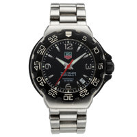 Tag Heuer Lady's Stainless Steel Formula 1 Watch