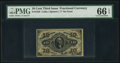 Fractional Currency:Third Issue, Fr. 1256 10¢ Third Issue PMG Gem Uncirculated 66 EPQ.. ...