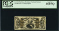 Fractional Currency:Third Issue, Fr. 1324 50¢ Third Issue Spinner PCGS Gem New 65PPQ.. ...