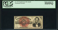 Fractional Currency:Fourth Issue, Fr. 1374 50¢ Fourth Issue Lincoln PCGS Choice About New 55PPQ.. ...