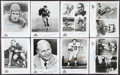 Autographs:Photos, Pro Football Hall of Famers Signed Photographs, Lot of 16....