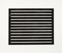 Donald Judd (1928-1994) Untitled, 1980 Aquatint on wove paper 24-3/8 x 29-1/4 inches (61.9 x 74.3 cm) (image) 29-1/8