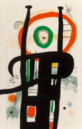 Prints & Multiples, Joan Miró (1893-1983). Le grand ordinateur, 1969. Etching and aquatint printed in colors with carborundum on Arches pape...