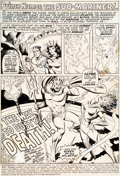 Original Comic Art:Panel Pages, Ross Andru and Mike Esposito Sub-Mariner #37 Story Page 1 Original Art (Marvel, 1971)....