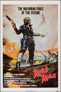 """Mad Max (American International, 1980). Folded, Fine+. One Sheet (27"""" X 41""""). Science Fiction"""