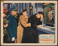 """Spellbound (United Artists, 1945). Fine+. Lobby Card (11"""" X 14""""). Hitchcock"""