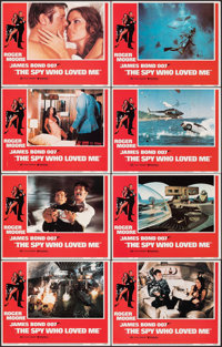 "The Spy Who Loved Me (United Artists, 1977). Very Fine+. Lobby Card Set of 8 (11"" X 14""). James Bond. ... (Tot..."