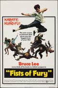 """Movie Posters:Action, The Big Boss (National General, 1973). Folded, Fine/Very Fine. One Sheet (27"""" X 41""""). U.S. Title: Fists of Fury. Action...."""