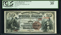 Portsmouth, OH - $20 1882 Brown Back Fr. 493 The First National Bank Ch. # 68 PCGS Very Fine 35