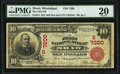 Shaw, MS - $10 1902 Red Seal Fr. 613 The First National Bank Ch. # (S)7200 PMG Very Fine 20