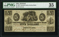 Obsoletes By State:Ohio, Kirtland, OH- Kirtland Safety Society Bank $5 Feb. 10, 1837 Rust 7 PMG Choice Very Fine 35.. ...
