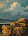Paintings, Eric Sloane (American, 1905-1985). Walpi Cloudscape, 1977. Oil on Masonite. 23-1/4 x 19 inches (59.1 x 48.3 cm). Signed ...