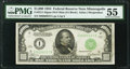 Small Size:Federal Reserve Notes, Fr. 2211-I $1,000 1934 Mule Federal Reserve Note. PMG About Uncirculated 55.. ...