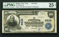 National Bank Notes:New York, Phelps, NY - $10 1902 Plain Back Fr. 627 The Phelps National Bank Ch. # 9839 PMG Very Fine 25 EPQ.. ...