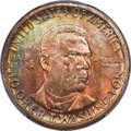 Commemorative Silver, 1946 50C Booker T. Washington MS67+ PCGS. CAC. PCGS Population: (100/2 and 22/0+). NGC Census: (68/0 and 3/0+). CDN: $300 W...