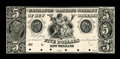 Obsoletes By State:Louisiana, New Orleans, LA- Exchange & Banking Company $5 G4 Proof. ...