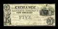 Obsoletes By State:Louisiana, New Orleans, LA- Exchange & Banking Company $5 Nov. 1, 1836 G2. ...