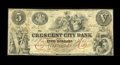 Obsoletes By State:Louisiana, New Orleans, LA- Crescent City Bank $5 G2a. ...