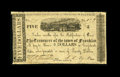 Obsoletes By State:Louisiana, Franklin, LA- Town of Franklin $5 Aug. 15, 1862. ...