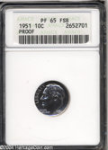 Proof Roosevelt Dimes: , 1951 PR 65 FSB ANACS. The current Coin Dealer ...