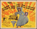"""Movie Posters:Musical, Meet Me in St. Louis (MGM, 1944). Very Fine. Title Lobby Card (11"""" X 14""""). Musical.. ..."""