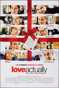 "Love Actually & Other Lot (Universal, 2003). Rolled, Very Fine+. One Sheets (3) (27"" X 40"" & 27""..."
