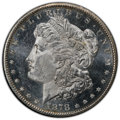 1878-CC $1 MS64 Prooflike PCGS. PCGS Population: (503/154 and 16/7+). NGC Census: (325/95 and 7/1+). CDN: $1,050 Whsle...