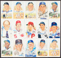 Autographs:Post Cards, 1989 Perez-Steel Signed Postcards, Lot of 22 Offer...