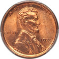 Lincoln Cents, 1920 1C MS67 Red PCGS. CAC....