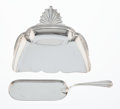 Silver & Vertu, A Cardeilhac Silver Crumber and Crumb Catcher, Paris, circa 1895. Marks to crumb catcher: (Minerva), (medal of hono...