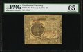 Continental Currency February 17, 1776 $7 PMG Gem Uncirculated 65 EPQ