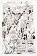 Original Comic Art:Panel Pages, Mark Bagley and Larry Mahlstedt The Amazing Scarlet Spider #1 Story Page 6 Original Art (Marvel, 1995)....