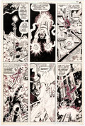 Original Comic Art:Panel Pages, George Perez and Frank McLaughlin Justice League of America #184 Story Page 4 Original Art (DC, 1980)....