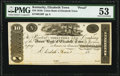 Elizabeth Town, KY- The Union Bank of Elizabeth Town $10 18__ Proof G20 PMG About Uncirculated 53