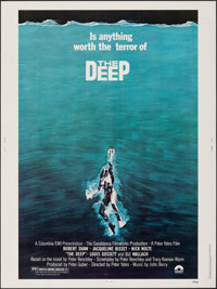 "The Deep (Columbia, 1977). Rolled, Very Fine-. Poster (30"" X 40""). Gary Meyer Artwork. Adventure"