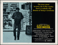 """Taxi Driver (Columbia, 1976). Rolled, Very Fine. Half Sheet (22"""" X 28""""). Crime"""