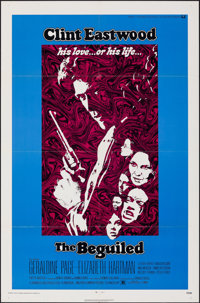 "The Beguiled (Universal, 1971). Folded, Very Fine+. One Sheet (27"" X 41""). Thriller"