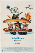 """Movie Posters:War, Kelly's Heroes (MGM, 1970). Folded, Very Fine. One Sheet (27"""" X 41""""). War.. ..."""