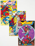 Modern Age (1980-Present):Superhero, X-Force Group of 22 (Marvel, 1991-93) Condition: Average VF+.... (Total: 22 Comic Books)