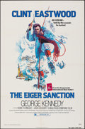 """Movie Posters:Action, The Eiger Sanction (Universal, 1975). Folded, Very Fine-. One Sheet (27"""" X 41""""). John Alvin Artwork. Action.. ..."""