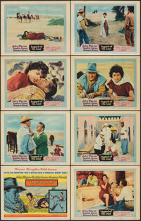 "Legend of the Lost (United Artists, 1957). Fine+. Lobby Card Set of 8 (11"" X 14""). Adventure. ... (Total: 8 It..."