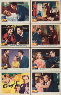 """Caught (MGM, 1949). Very Fine-. Lobby Card Set of 8 (11"""" X 14""""). Film Noir. ... (Total: 8 Items)"""