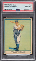 Baseball Cards:Singles (1940-1949), 1941 Play Ball Frank Demaree #58 PSA NM-MT 8 - Only One Higher. ...