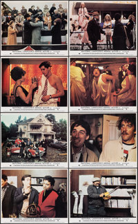 "Animal House (Universal, 1978). Near Mint. British Front of House Mini Lobby Card Set of 8 (8"" X 10""). Comedy..."