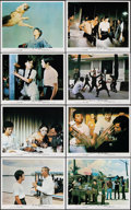 """Movie Posters:Action, Fists of Fury (Cathay, 1973). Very Fine/Near Mint. British Front of House Color Photo Set of 8 (8"""" X 10"""") Alternate Title: ... (Total: 8 Items)"""