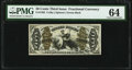 Fractional Currency:Third Issue, Fr. 1362 50¢ Third Issue Justice PMG Choice Uncirculated 64.. ...
