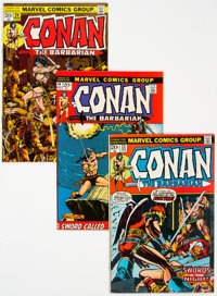 Conan the Barbarian Group of 46 (Marvel, 1971-80) Condition: Average FN.... (Total: 46 Comic Books)